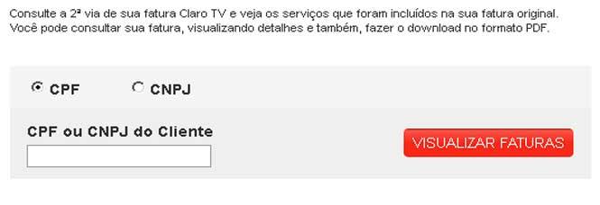 Serviços Pela Internet da TV Via Embratel