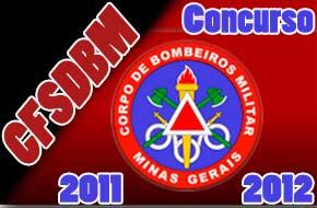 Concurso Corpo de Bombeiros MG CFSdBM 2011/2012
