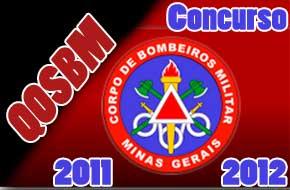 Concurso Corpo de Bombeiros MG QOSBM 2011/2012