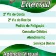 Impressão da 2a Segunda Via de Conta de Luz Enersul pela internet. Outros serviços online da Enersul estão disponíveis, consulta débitos, Enersul 2 via