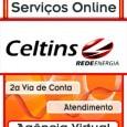 2 Via Celtins. Solicitar segunda 2 via Conta Celtins pela Internet. Consulte 2 via recibo, débitos, Telefone endereço informações e serviços Celtins 2 via