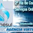 Orientações para solicitar a 2a Segunda Via de Conta Sanesul pela Internet. Consulte outros serviços online da Sanesul, débitos, fatura, Enersul 2 via