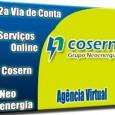Atendimento online da Cosern para emissão da 2a segunda via de conta. Outros serviços podem ser solicitados pela internet, consultar débitos e Cosern 2 via