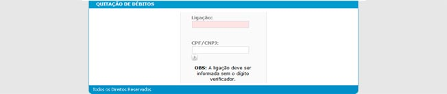Água de Niterói - 2a Segunda Via da Fatura Pela Internet