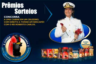 Veja os Prêmios e Data dos Sorteios da Promoção Nescafé 2011 – Emoções em Alto Mar