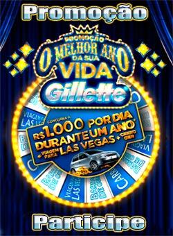 Nova Promoção O Melhor Ano da Sua Vida Gillette