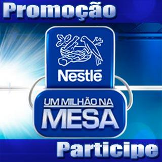 Promoção Nestlé – Um Milhão na Mesa em Parceria com Silvio Santos e SBT
