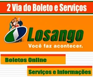Boleto Losango 2 via, acesse serviço para atualizar boleto 2 via Losango
