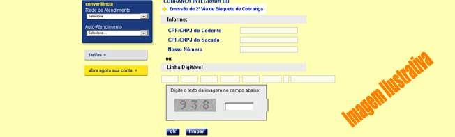 Boleto Online Banco do Brasil 2 Via da Fatura
