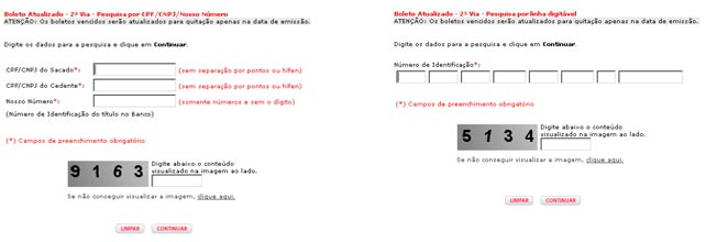 2 Via do Boleto Bradesco Online