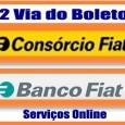 2 Via de Boletos FIAT. Serviço para emitir a 2 via do boleto consórcio FIAT e do boleto de Financiamento Banco FIAT. Consulte outras informações FIAT 2 via.