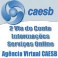 Serviço online para emissão da 2 Via de Conta da CAESB.Confira ainda o telefone da CAESB e outras informações e serviços sobre sua conta Caesb 2 via.