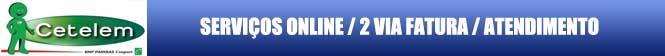 FATURA 2 VIA CETELEM, consulte débitos e fatura Cetelem 2 via