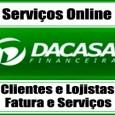 Serviço online para solicitar 2 via da fatura do Cartão Dacasa. Consulte também 2 via do cartão, telefone e serviços para clientes e lojistas Dacasa 2 via