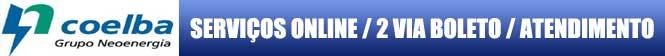 2 VIA COELBA, solicite online sua conta de água Coelba 2 Via