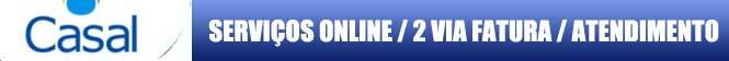 2 VIA CASAL, solicite online sua conta de água Casal 2 via