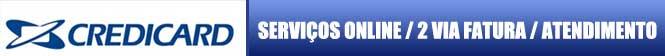 2 VIA CREDICARD, solicite online sua fatura cartão Credicard 2 via