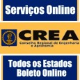 CREA 2 Via do Boleto CREA AC, AL, AM, AP, BA, CE, DF, ES, GO, MA, MG, MS, MT, PA, PB, PE, PI, PR, RJ, RN, RO, RR, RS, SC, SE, SP, TO. Serviços online, ART e informações