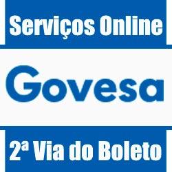 Consórcio Govesa 2 via boleto, serviços online e informações