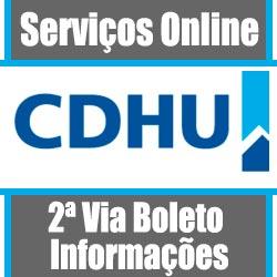 CDHU 2 VIA, boleto da prestação boleto atualizado 2 via CDHU
