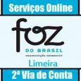Solicite 2 via de conta Foz Limeira, consulte débitos, faturas atrasadas, telefone e endereço de atendimento conta de água Foz do Brasil Limeira 2 Via SP