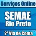 Serviço SEMAE Rio Preto para imprimir 2 via de conta, consultar débitos, faturas, telefone, endereço e informações Semae São José do Rio Preto 2 via.