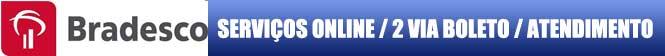 2 VIA BRADESCO, atualize online seu boleto Bradesco 2 Via