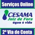Cesama 2 via de conta, consultar débitos, faturas, informações e procedimentos. Telefone, endereço e atendimento conta de água 2 via Cesama juiz de Fora