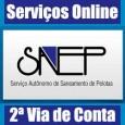 Atendimento Sanep para emitir 2 via de conta, consultar débitos, fatura em atraso e serviços. Saiba telefone, endereço e informações Sanep 2 via Pelotas RS