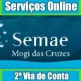 Emissão 2 Via de Conta Semae Mogi das Cruzes, consulte débitos, faturas e serviços online. Telefone, endereço e informações Semae Mogi das Cruzes 2 via