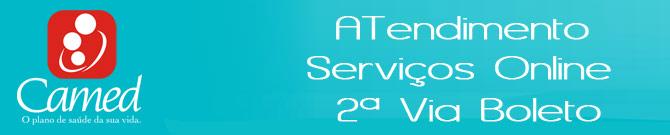 Serviços Camed 2 Via Boleto - Rede Credenciada