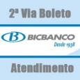 BICBANCO 2 VIA. Solicite 2 via boleto, consulte débito, fatura cartão Visa, extrato, saldo, telefone, endereço, serviços online Boleto 2 Via BICBANCO