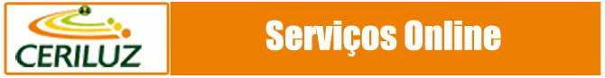 Serviços online Ceriluz 2 via de conta