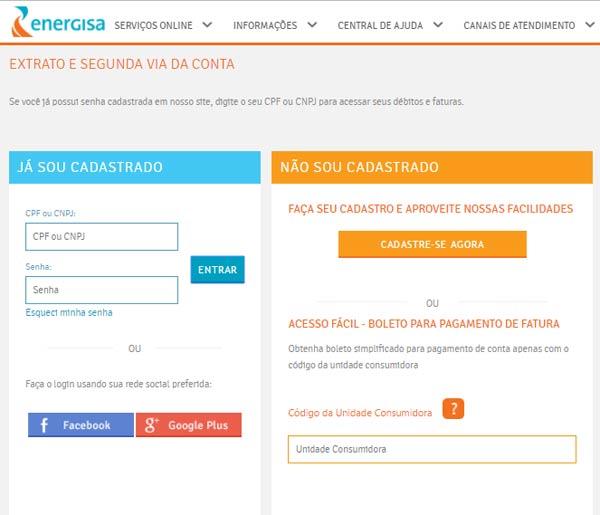 Serviços Online Bragantina Para Reemissão do Boleto